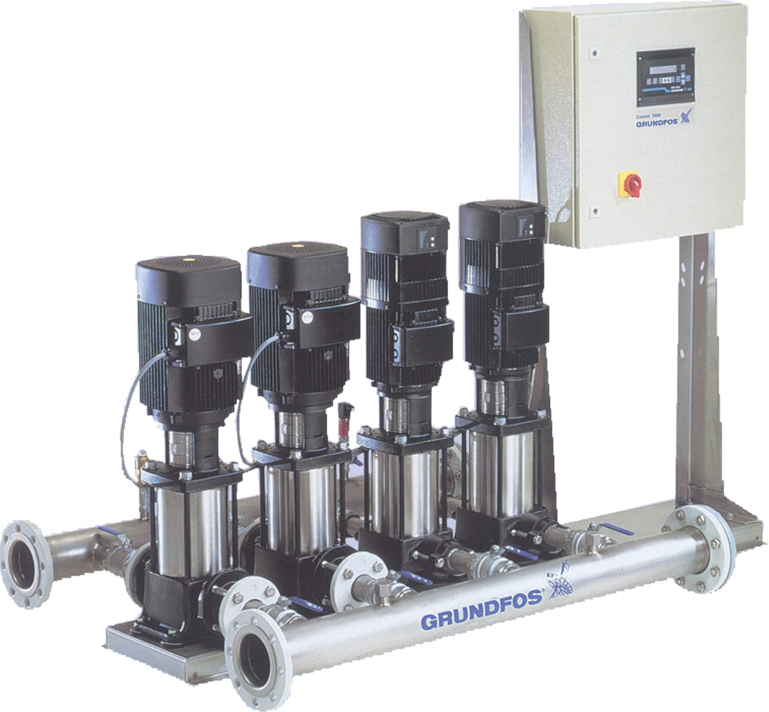 Pressure Booster Systems : Grundfos booster pumps control specialties