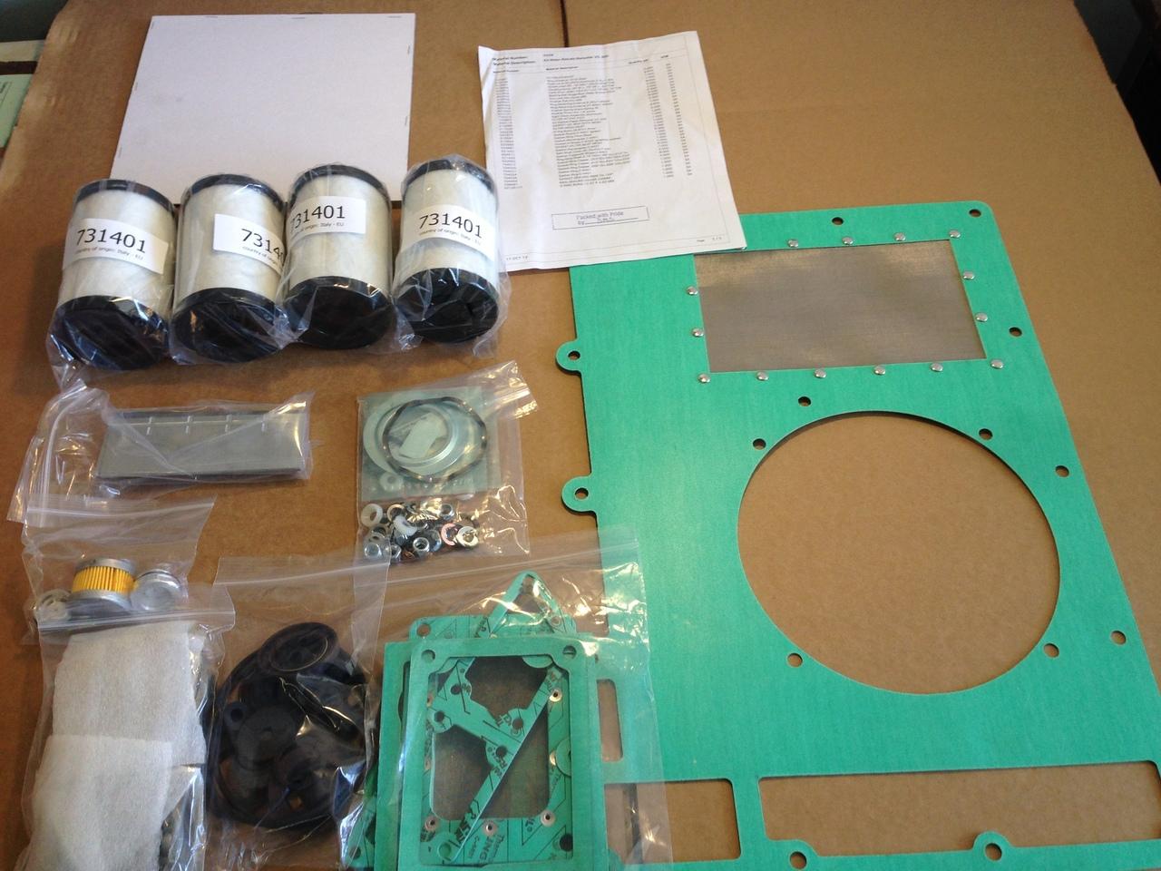 Rietschle Thomas Repair Kits