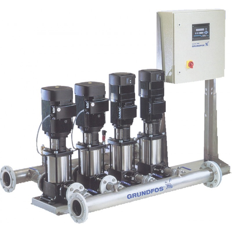 Pressure Booster Systems : Grundfos boosterpaq mf type control specialties