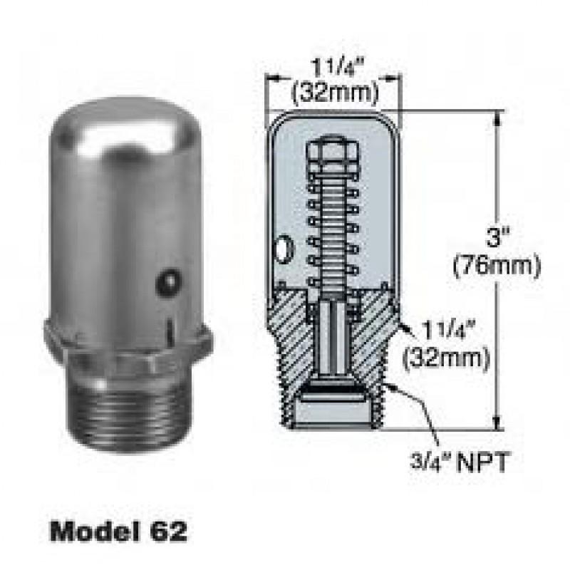 Hoffman model vacuum breaker control specialties