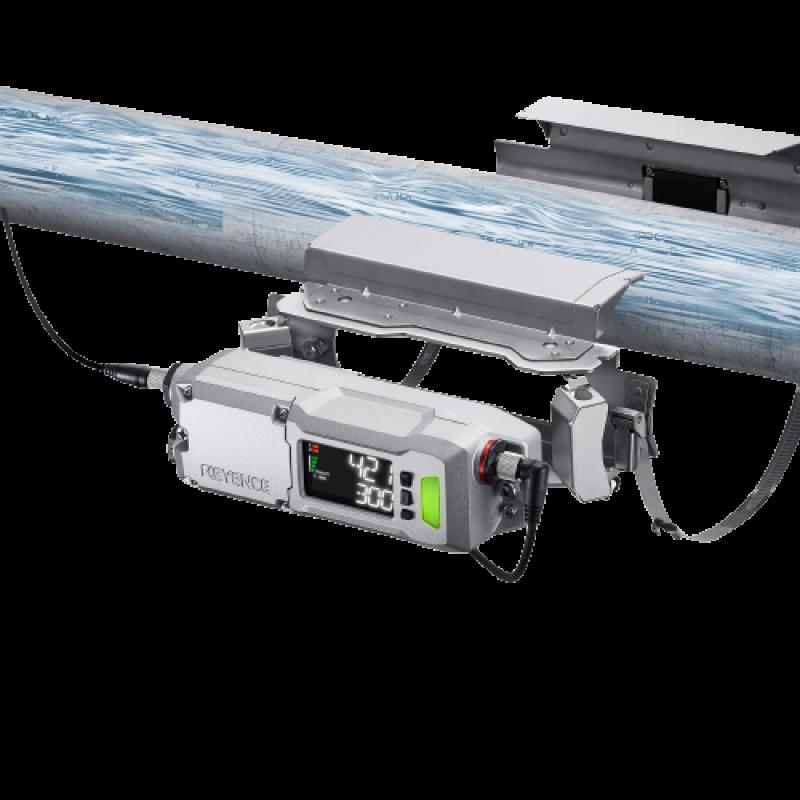 Keyence Fd R Series Clamp On Flow Meter Control Specialties
