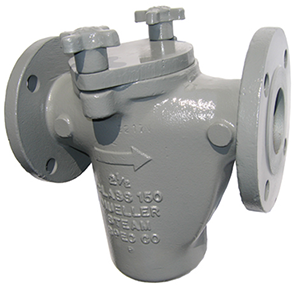 Compressed Air Piping >> Mueller Model 125F-SS Stainless Steel Basket Strainer | Control Specialties