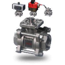Assured Automation Series 36 Stainless Steel Ball Valve