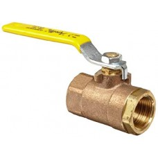 Apollo Bronze Two Piece Ball Valve