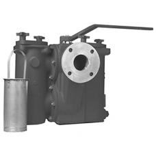 Mueller Model 792-FD Carbon Steel Duplex Basket Strainer