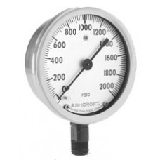 Ashcroft 1009 Stainless Steel Pressure Gauge