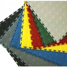 Greatmats PVC Interlocking Coin Top