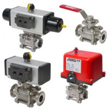 Automated Valve Series 36 stainless steel ball valve