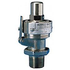 Kunkle Models 2-C0-1 Brass Safety Valve