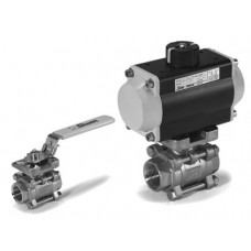 Sharpe Series 13 DIR-ACT 3 Piece Ball Valves